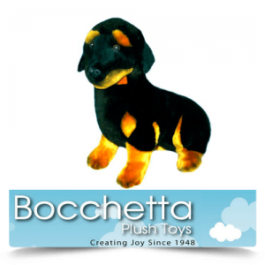 Dachshund Soft Plush Dog Bashful Bocchetta