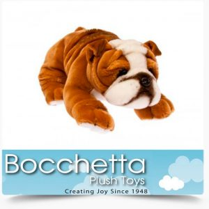 Bulldog Soft Plush Dog Boston Bocchetta