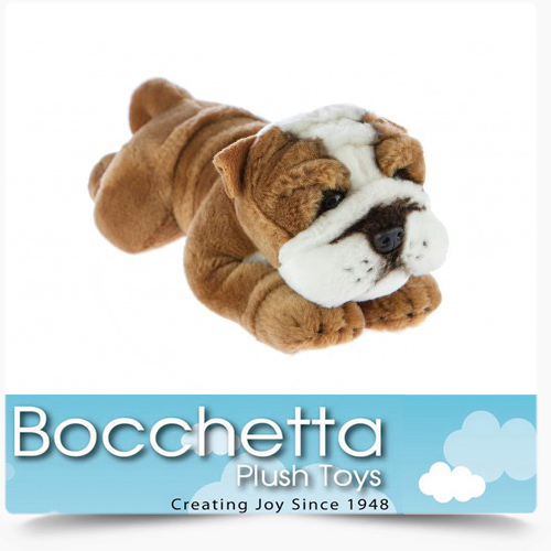 Bulldog Soft Plush Dog Brutus Bocchetta