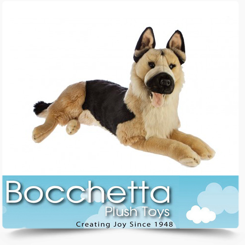 German Shepherd Soft Plush Dog Caesar Bocchetta