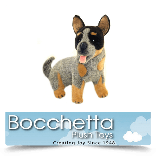 Cattle Dog Soft Plush Dog Bluey Bocchetta