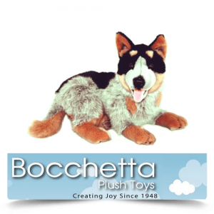 Cattle Dog Soft Plush Dog Gallagher Bocchetta