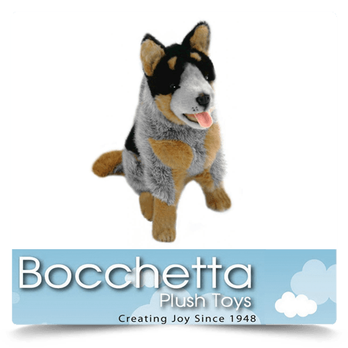 Cattle Dog Soft Plush Dog Marshall Bocchetta