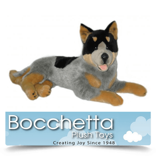 Cattle Dog Soft Plush Dog Orazio Bocchetta