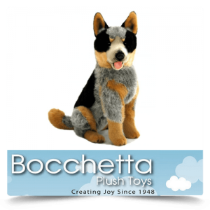 Cattle Dog Soft Plush Dog Rocky Bocchetta