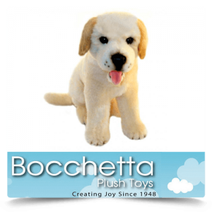 Labrador Soft Plush Dog Cher Bocchetta