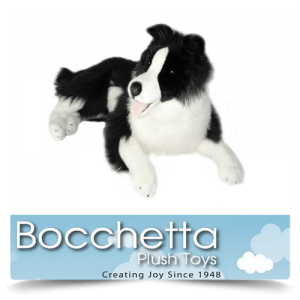Border Collie Soft Plush Dog Oscar Bocchetta
