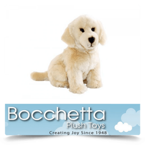Golden Retriever Soft Plush Dog Chanel Bocchetta