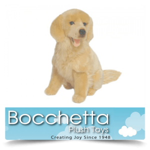 Golden Retriever Soft Plush Dog Goldie Bocchetta