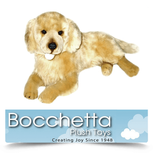 Golden Retriever Soft Plush Dog Lucky Bocchetta