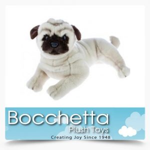 Pug Soft Plush Dog Kaos Bocchetta