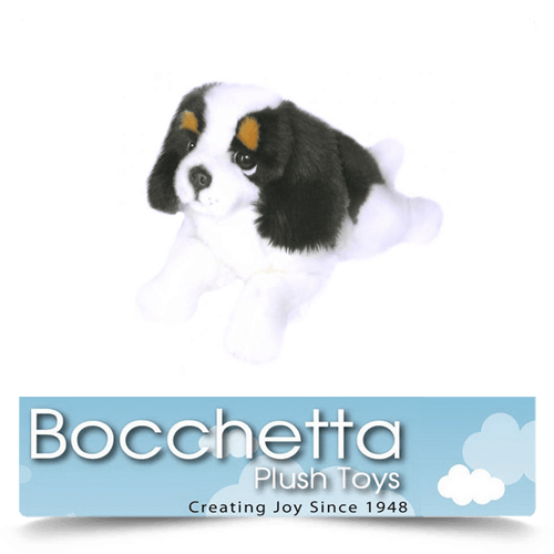 Cavalier King Charles Soft Plush Dog Alex Bocchetta
