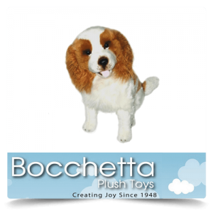 Cavalier King Charles Soft Plush Dog Lilly Bocchetta