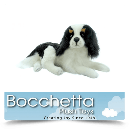 Cavalier King Charles Soft Plush Dog Snuggles Bocchetta