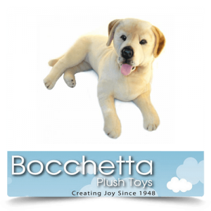 Labrador Soft Plush Dog Beau Bocchetta