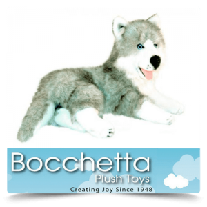 Husky Soft Plush Dog Madison Bocchetta