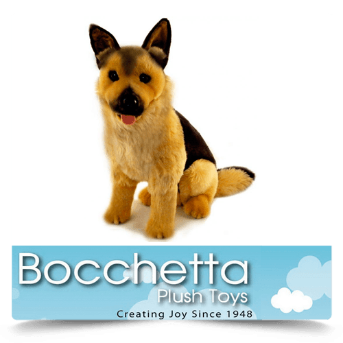German Shepherd Soft Plush Dog Major Bocchetta