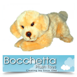 Golden Retriever Soft Plush Dog Maple Bocchetta