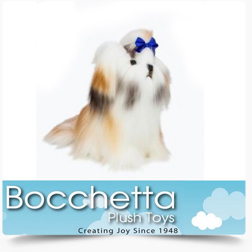 Shih-Tzu Soft Plush Dog Muffin Bocchetta