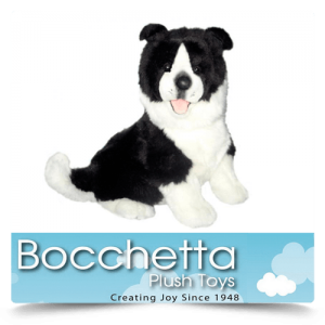 Border Collie Soft Plush Dog Pepsi Bocchetta