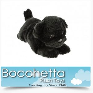 Pug Soft Plush Dog Puddles Bocchetta