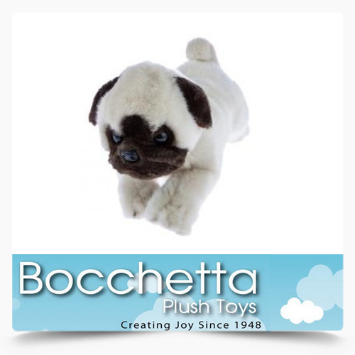 Pug Soft Plush Dog Pepito Bocchetta
