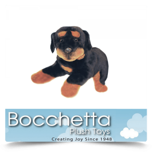 Rottweiler Soft Plush Dog Kujo Bocchetta