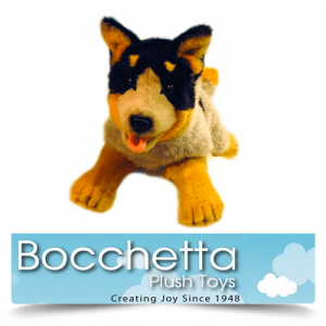Cattle Dog Soft Plush Dog Rusty Bocchetta