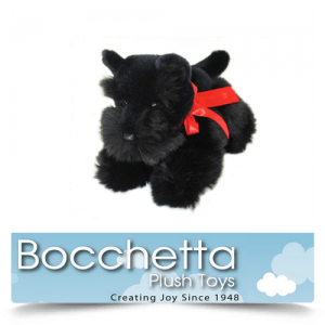 Scottish Terrier Soft Plush Dog Haggis Bocchetta