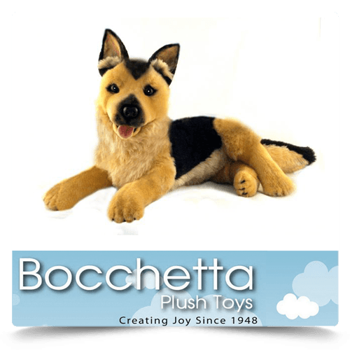 German Shepherd Soft Plush Dog King Bocchetta