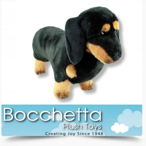 Dachshund Soft Plush Dog Shorty Bocchetta