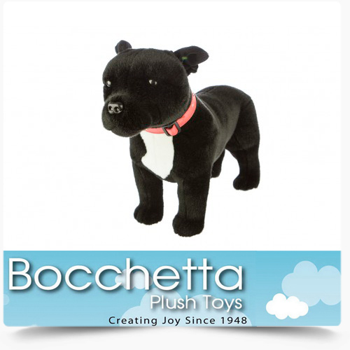 Staffy Soft Plush Dog Stanley Bocchetta