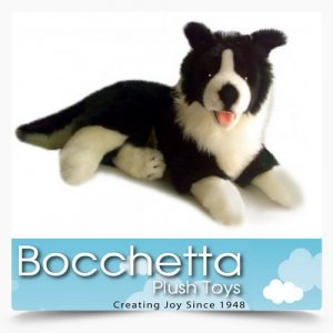 Border Collie Soft Plush Dog Starsky Bocchetta