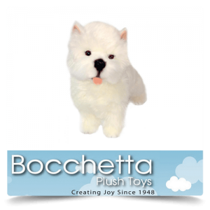West Highland Terrier Soft Plush Dog Olivia Bocchetta