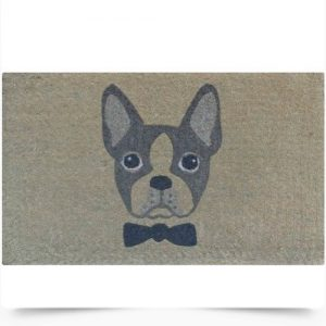 French Bulldog Bowtie Doormat