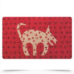 Red Dog Doormat