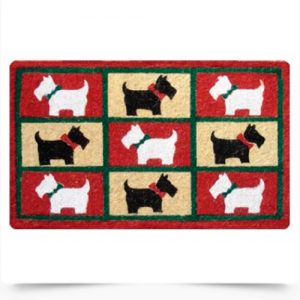 Scottish Terriers Doormat