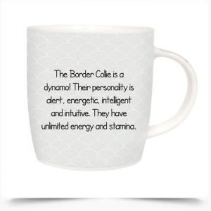 Border Collie Dog Mug