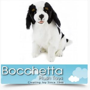 Cavalier King Charles Soft Plush Dog Chester Bocchetta