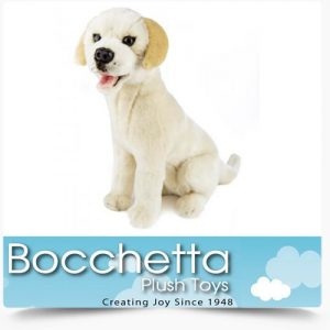 Labrador Soft Plush Dog Duke Bocchetta