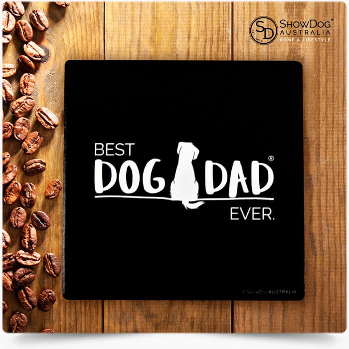 Dog Dad Drink Coasters