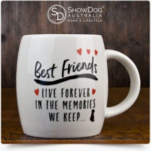 Dog Mug Best Friends Live Forever Coffee Mug