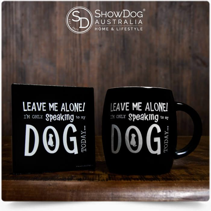 Dog Mug Only Talking To My Dog Coffee Mug