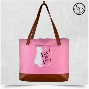 All You Need Dog Tote Bag